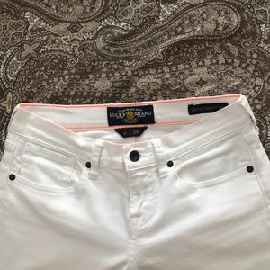 Lucky White Jeans